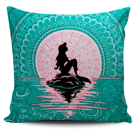Ariel Mermaid Pillow Cover