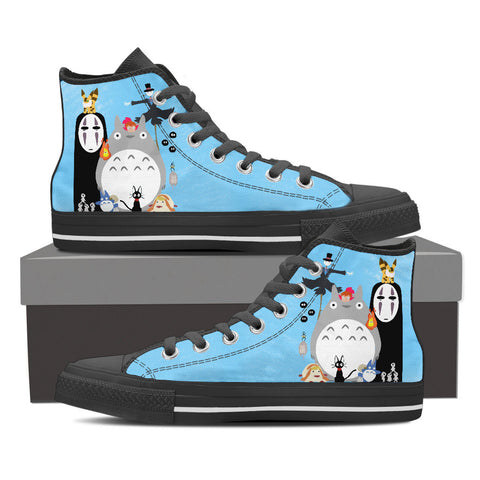 Cutest Miyazaki's Characters Shoes for Men