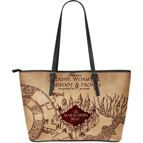 Harry Potter The Marauder's Map Large Bag