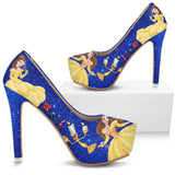 Beauty and The Beast Shoes Heels