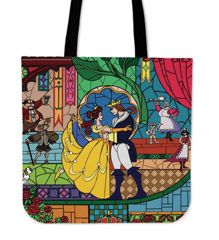 Beauty and The Beast Tote Bags