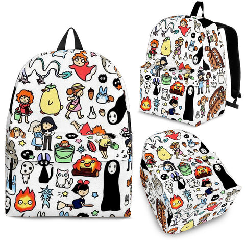Ghibli Characters Backpack