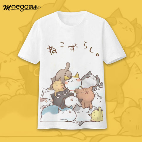 Cat Game Neko Atsume T-shirt