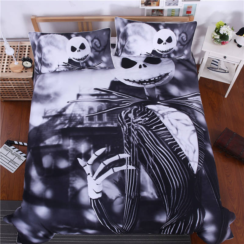 Christmas Bed Linen Sets Part - 48: The Nightmare Before Christmas Duvet Cover Set