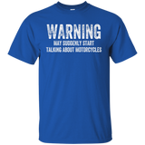 Biker Shirt Warning Motorcycles