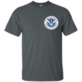 47 DEPARTMENT OF HOMELAND SECURITY DHS T-SHIRT