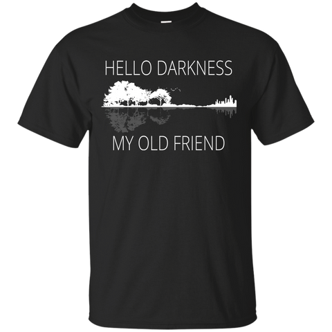 1460 Hello Darkness My Old Friend Guitar Shirt