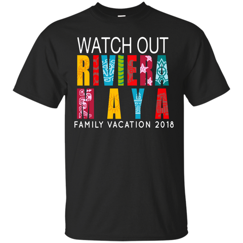 1344 Riviera Maya Mexico Beach T-shirt