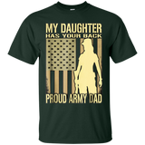 1379 Proud Army Dad T-Shirt