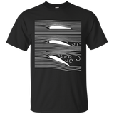 27 WING T-SHIRT AEROSPACE AIRFOIL STALL DIAGRAM