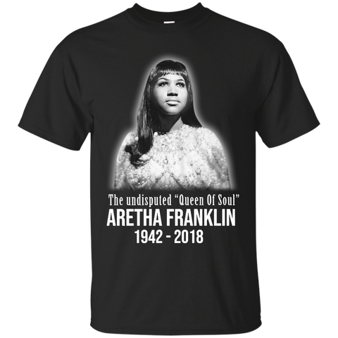 1091 Aretha Franklin T Shirt Queen Of Soul Pop