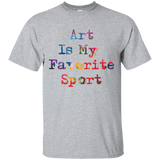 10 ART IS MY FAVORITE SPORT T-SHIRT FOR ARTISTS