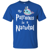 24 MY PATRONUS IS A NARWHAL T-SHIRT