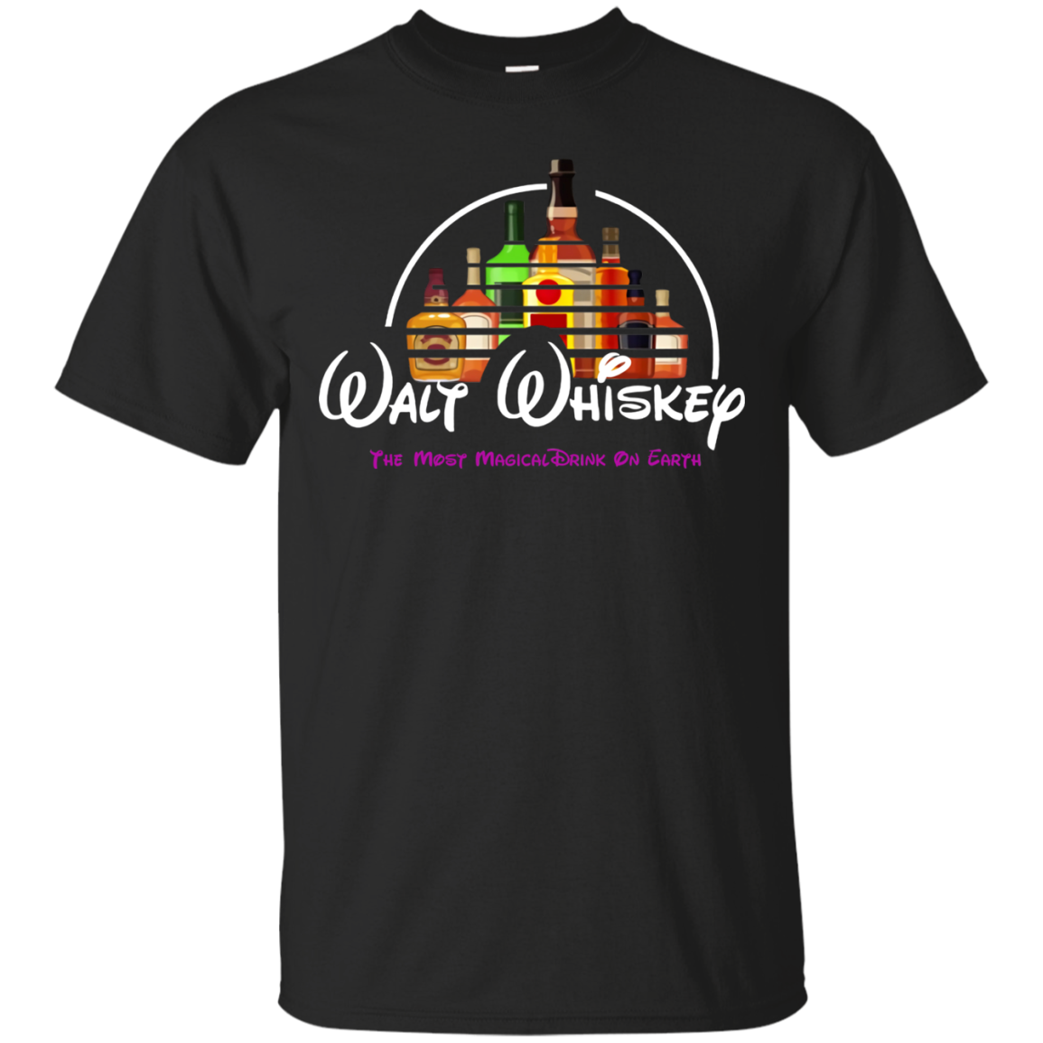 19 Malt Whiskey Disney Shirt