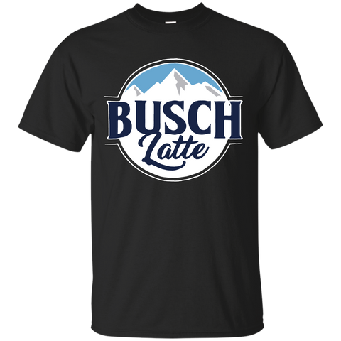 126 Busch Latte Black Shirt