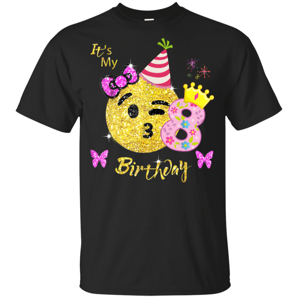 Emoji Birthday Shirt For Girls OMG Youth Ultra Cotton T