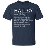 Adult Definition – First Name Hailey Shirt