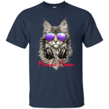 1334 Cat Shirt Funny DJ Maine Coon