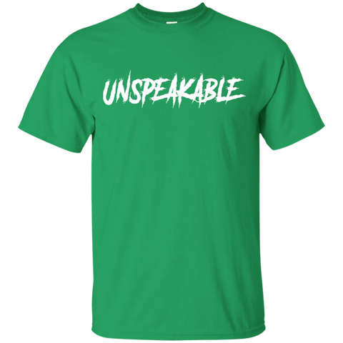 11 Unspeakable green T-shirt for kids