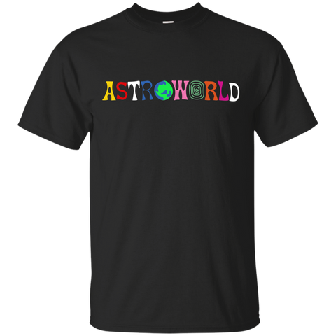 astroworld_aw Astroworld Black T Shirt