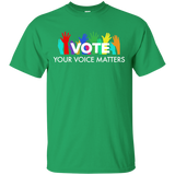 42 VOTE YOUR VOICE MATTERS TSHIRT