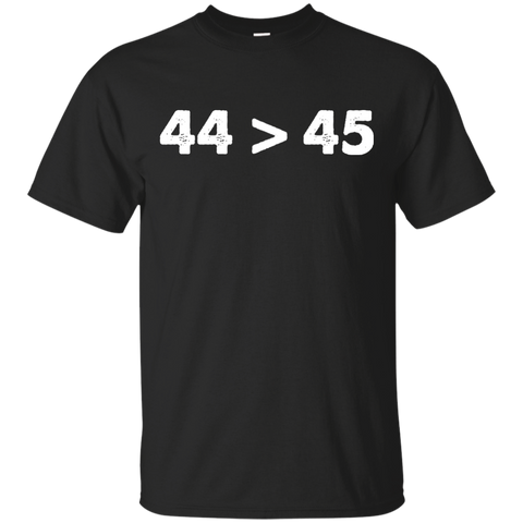 44>45 Anti Trump Shirt President Obama is Greater Than President Trump
