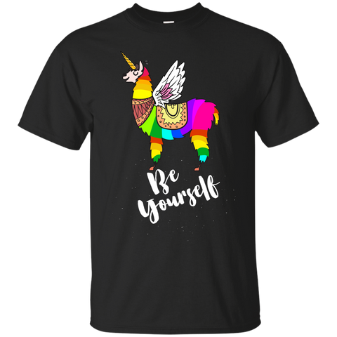 1357 Llamacorn Shirt Be Yourself Unicorn Shirt