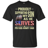 1356 Proud Army Dad T-Shirt