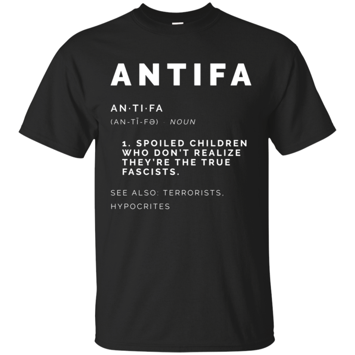 Antifa Definition Shirt