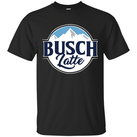 126 Busch Latte Black Cotton Men T Shirt M-4XL