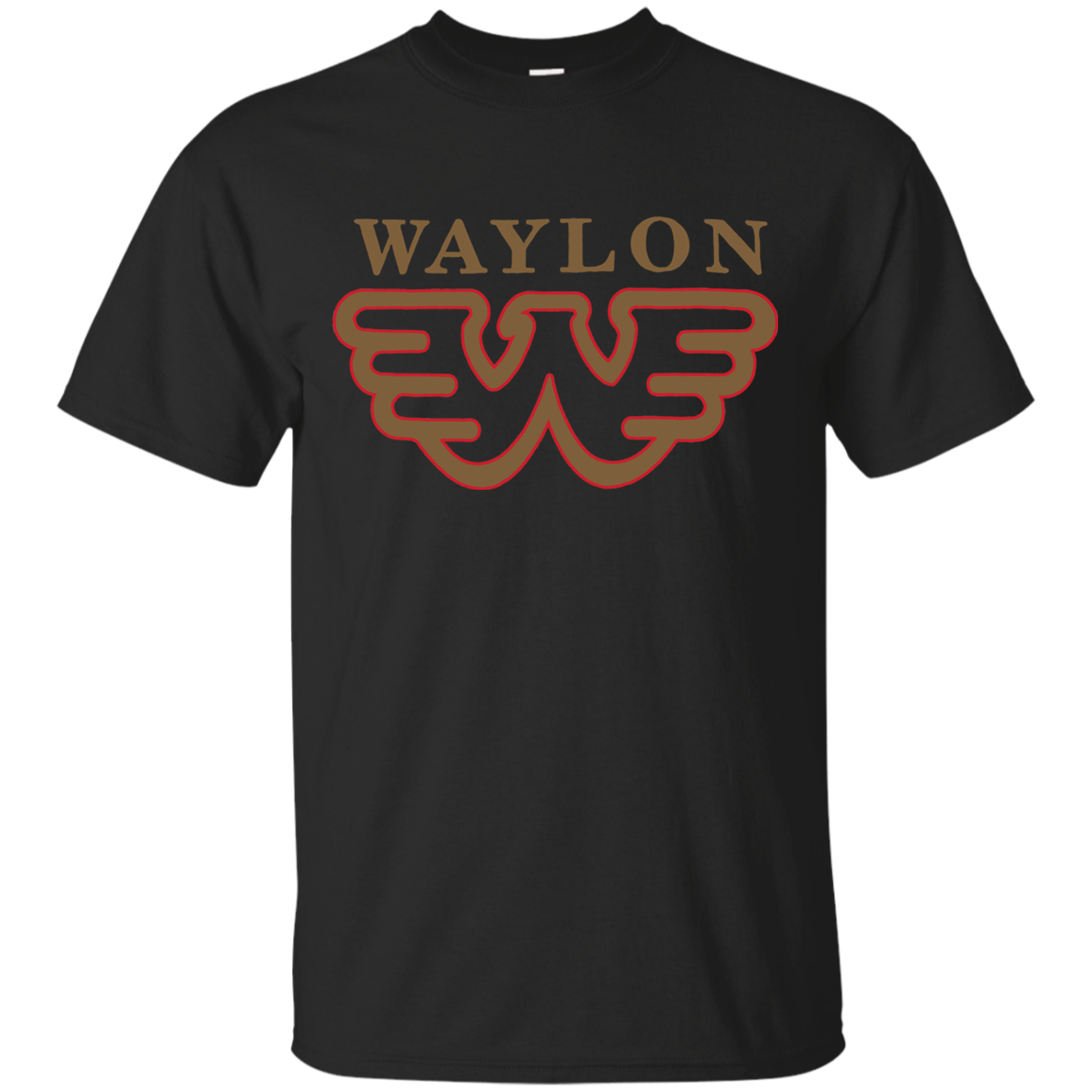 26 WAYLON JENNINGS FLYING W LOGO SHIRT