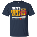 126 Carpenter Matt's Secret Salsa Funny Baseball Youth TShirt