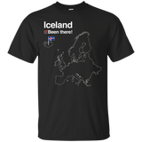 1332 Iceland Shirt with Flag