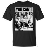 170 You can't sit with us Hocus Pocus Sanderson Halloween Shirt