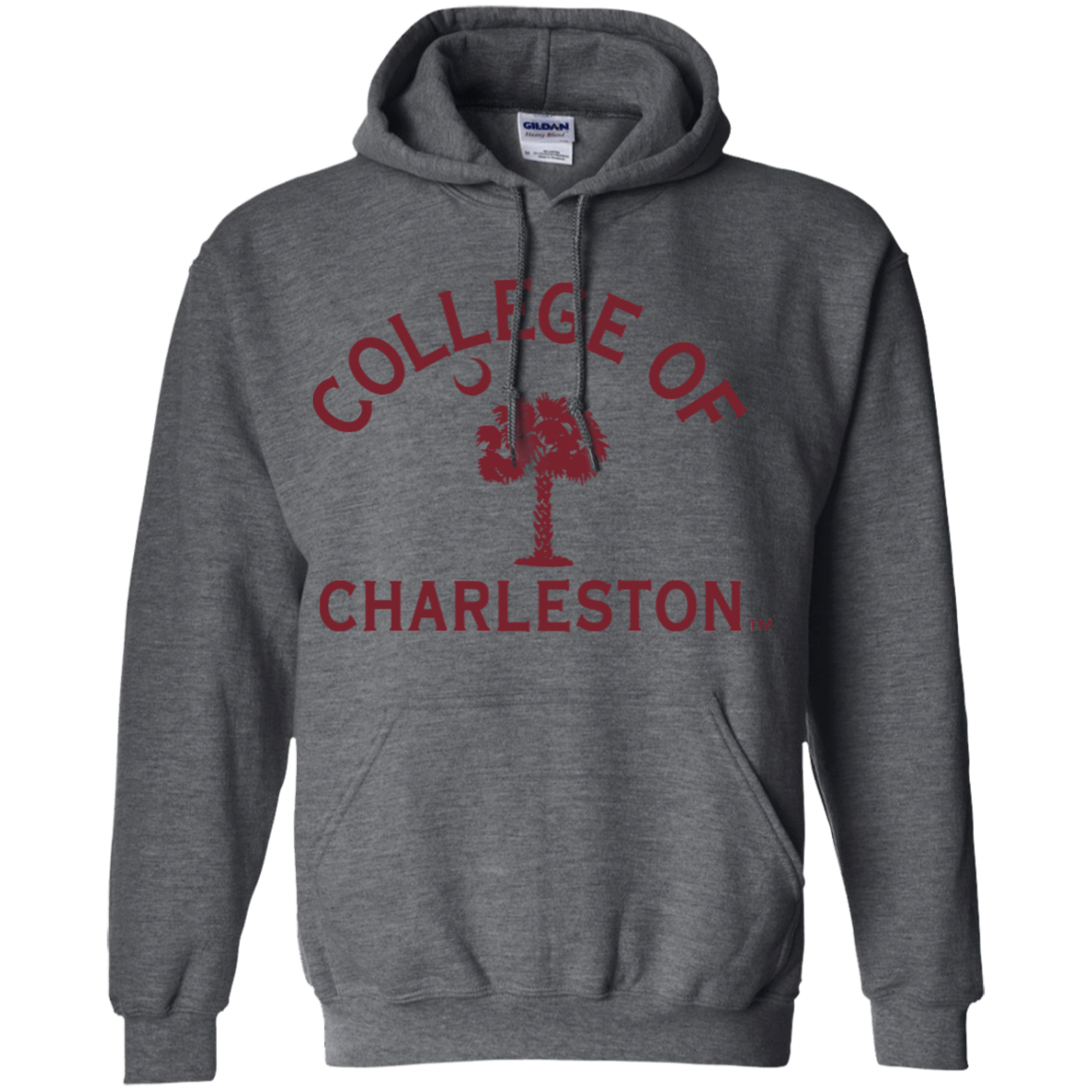 College of Charleston Cougars Pullover Hoodie