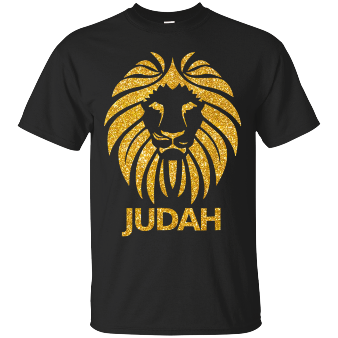 Hebrew Israelite Shirt Lion Of Judah in Gold Shirt