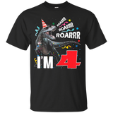 198 Rawr I'm 4 4th Birthday Dinosaur Shirts