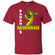 263 Savannah Bananas Funny Softball T Shirt