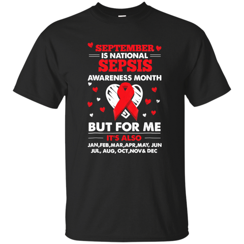 22 SEPTEMBER IS SEPSIS AWARENESS MONTH SHIRT