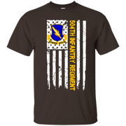 504th Infantry Regiment American Flag Shirt