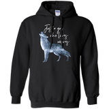 22 JUST A GIRL WHO LOVES WOLVES HOODIE