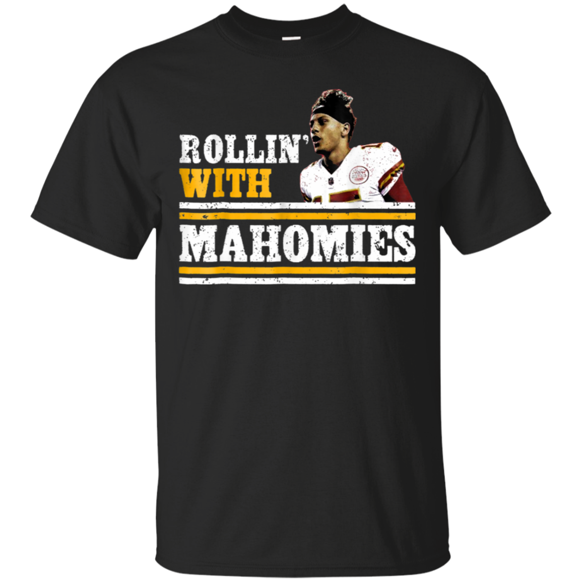 Chiefs-Kingdom Cave Rollin With Mahomies Shirt