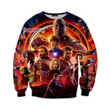 Avengers Infinity War Thanos 3D Printed Hoodie