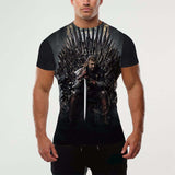 3D T-shirt Printed Game Of Thrones