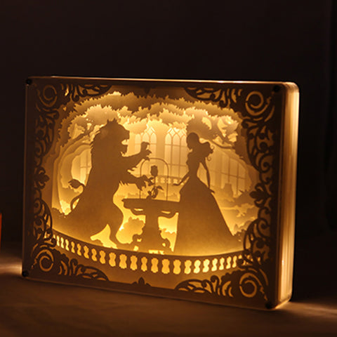 Beauty and the Beast Lamp