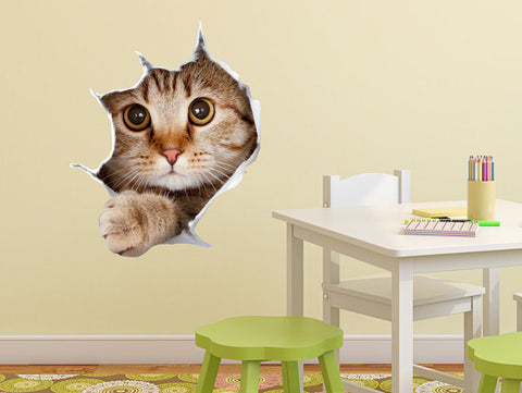 Cat 3D Sticker Decorative