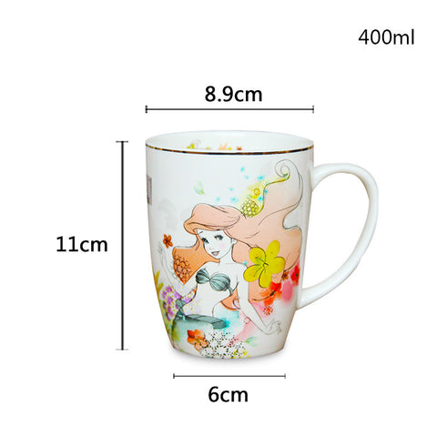 Arial and Cinderella Princess Mug