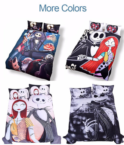 The Nightmare Before Christmas Duvet Cover Set