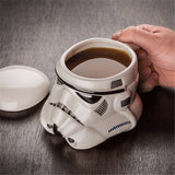 Darth Vader and White Knight Ceramic Creative Mug