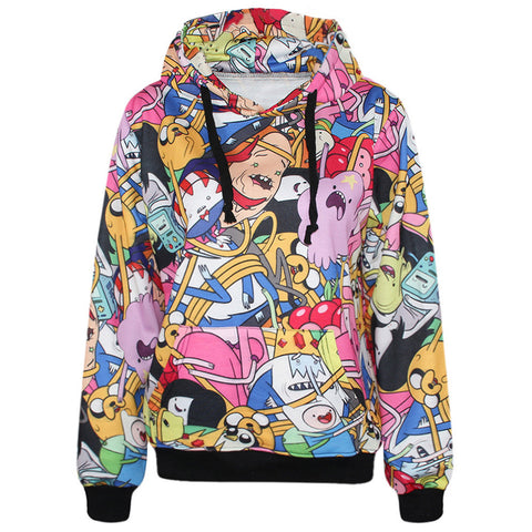 Finn & Jake Adventure Time Hoodies